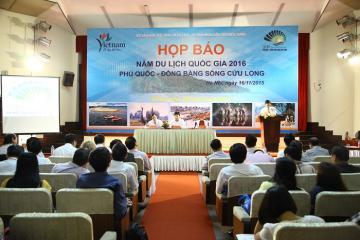 HỌP BÁO NĂM DU LỊCH QUỐC GIA 2016 - PHÚ QUỐC - ĐBSCL